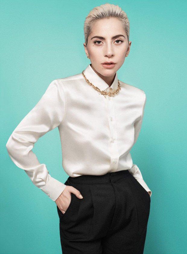 Леди Гага в рекламе Tiffany