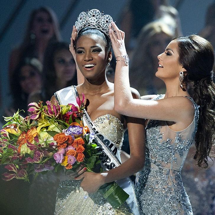 Лейла Лопес, Ангола. «Мисс Вселенная — 2011». 25 лет, рост 179 см, параметры фигуры 89?60?90.