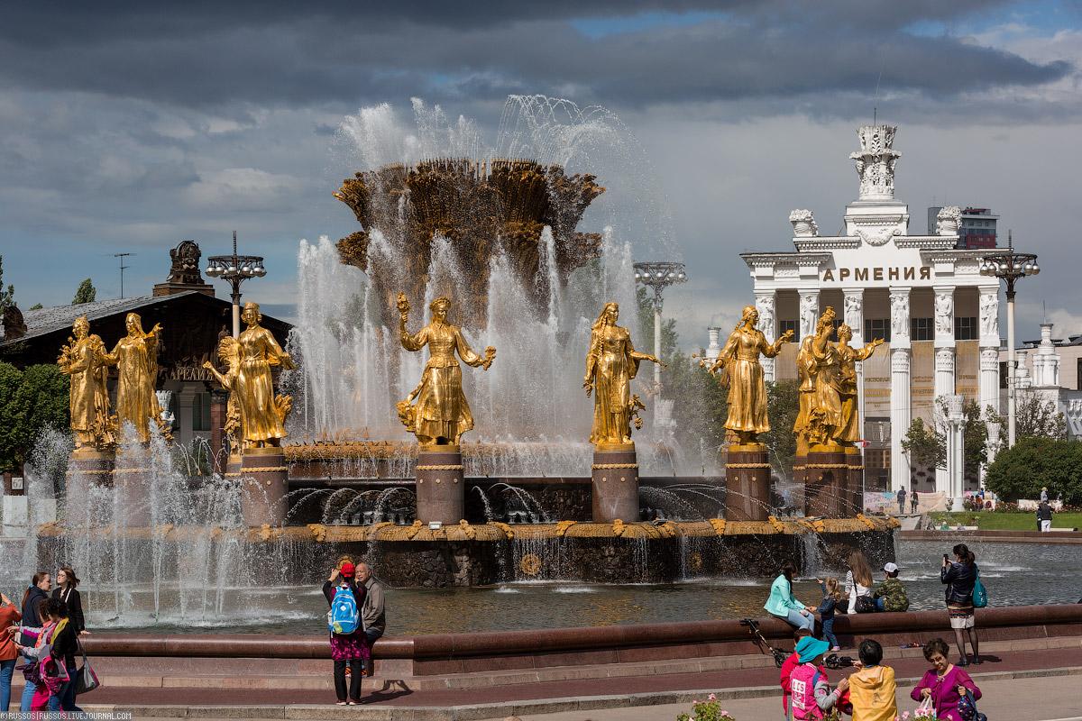 А вот Армения отреставрирована, и там будет экспозиция, посвященная этой замечательной и гостеприимн