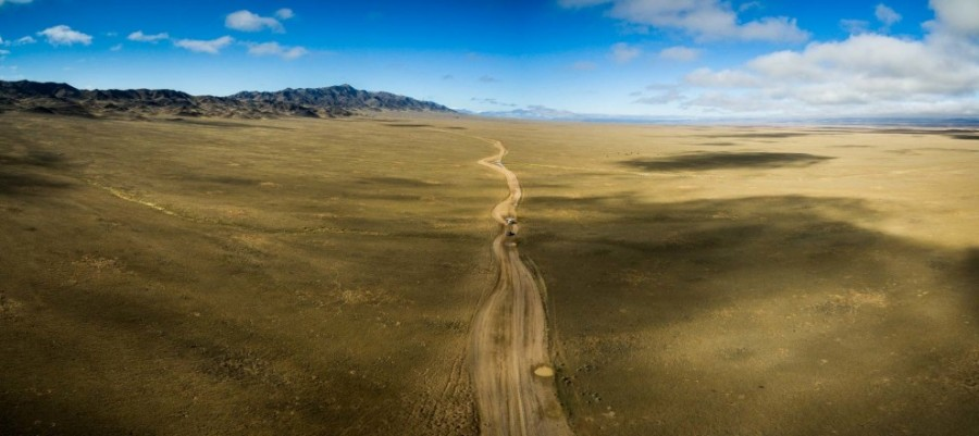 1. Знаменитые степи. 2. Блогер признается, что не ожидал увидеть в Казахстане такую красоту.