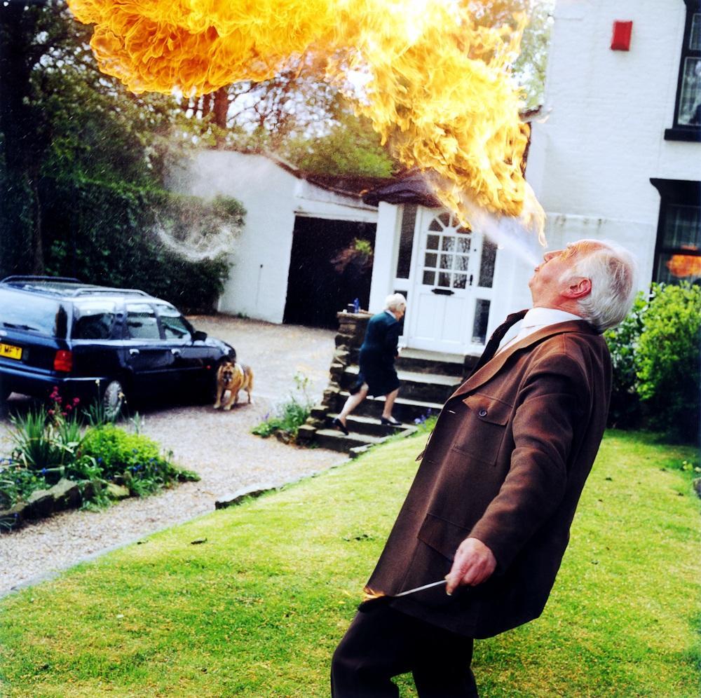 3. Дэнни Линч по кличке Великий Вулкан Стромболи. «Мне уже много лет, но я все равно буду дышать огн