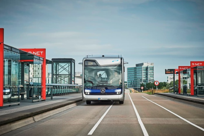 Mercedes-Benz Citaro как основа. Future Bus основан на 12-метровом автобусе Mercedes-Benz Citaro и о
