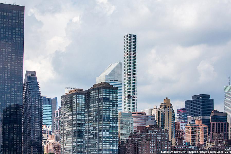 23. Это жилая высотка, которая на сегодня считается самым высоким зданием Нью-Йорка, если не уч