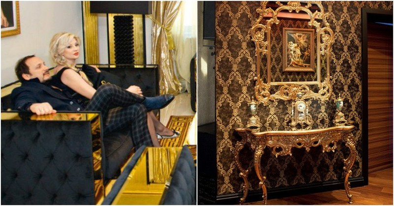 Дом Стаса и Инны Михайловых расположен в Подмосковье. Он большой, ведь, семья у Михайловых тоже