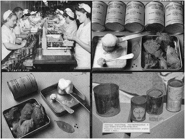 Производство тушенки в Советском Союзе