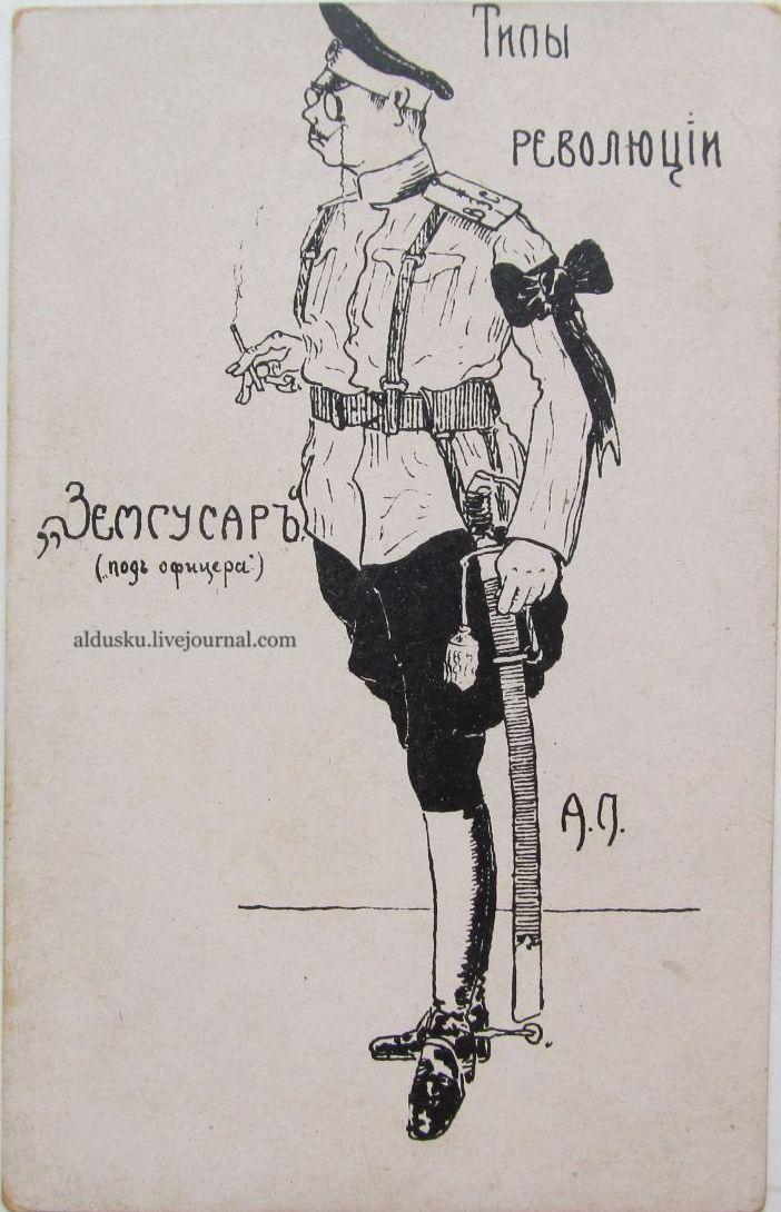 Типы революций «Земгусар» (под офицера)