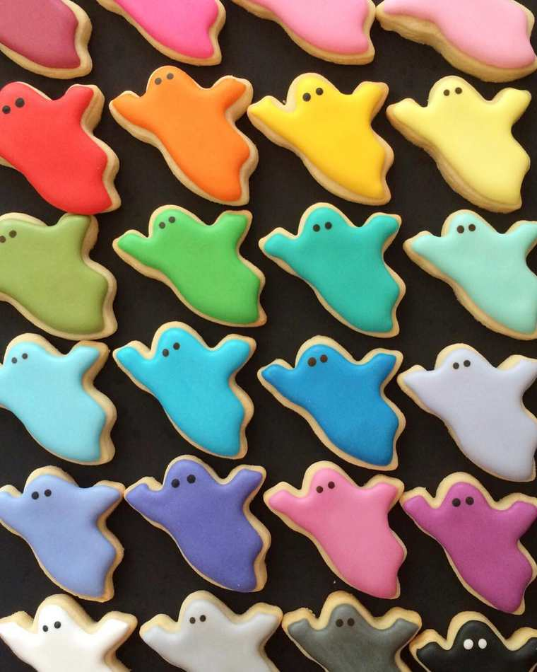 Cookie Art - The adorable and appetizing edible illustrations by Holly Fox