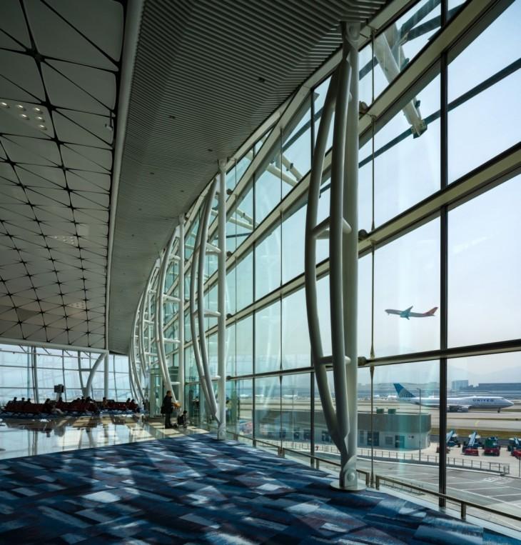 Hong Kong International Airport Midfield Concourse by Aedas