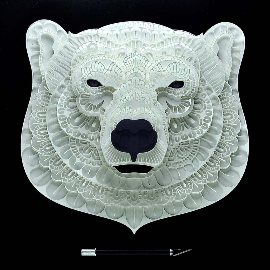 Endangered Species – Delicate paper cuts for a good cause (15 pics)