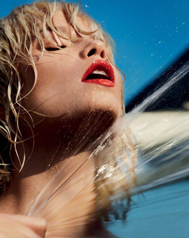 Supermodel Natasha Poly Stuns for Vogue Russia June 2017 Cover Story