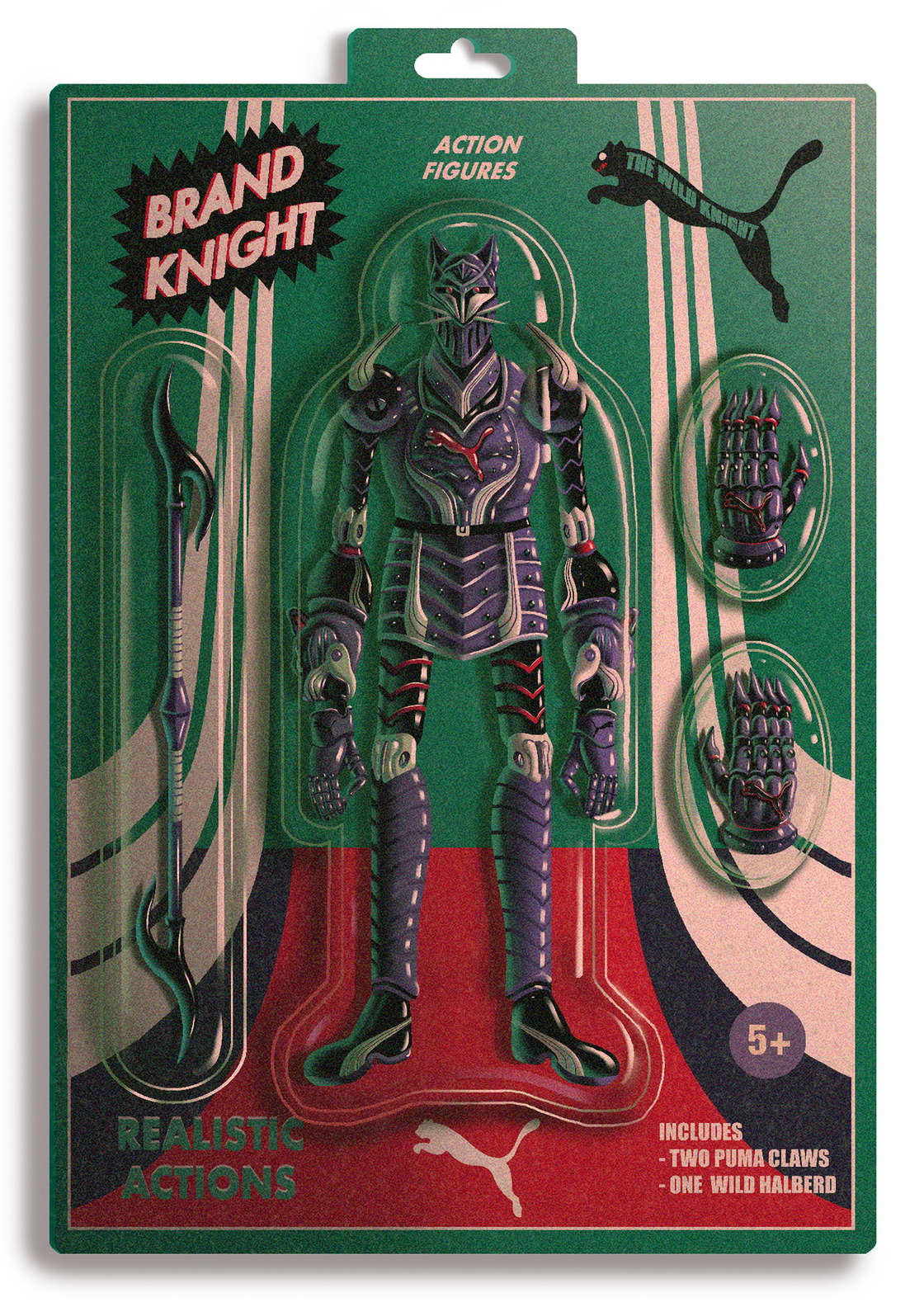 Brand Knight - When famous brands are turned into toys