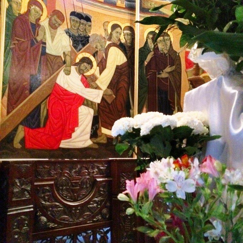 Успенская церковь и часовня Трех святителей