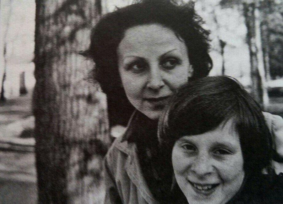 Марианна Басманова с сыном Андреем