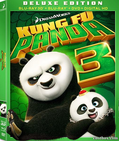 Кунг-фу Панда 3 / Kung Fu Panda 3 (2016/BDRip/HDRip/3D)