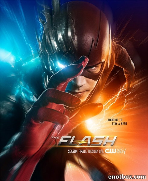 Флэш / The Flash - Сезон 3, Серии 1-22 (23) [2016, WEB-DLRip | WEB-DL 1080p] (LostFilm | NewStudio)