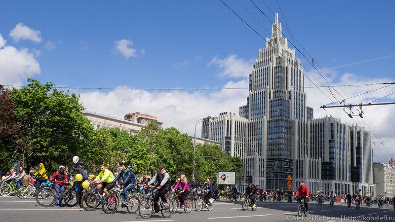 Московский Велопарад – взгляд изнутри