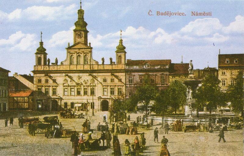 Будвайзер (Ческе-Будеёвице), Главная площадь, 1918 г.