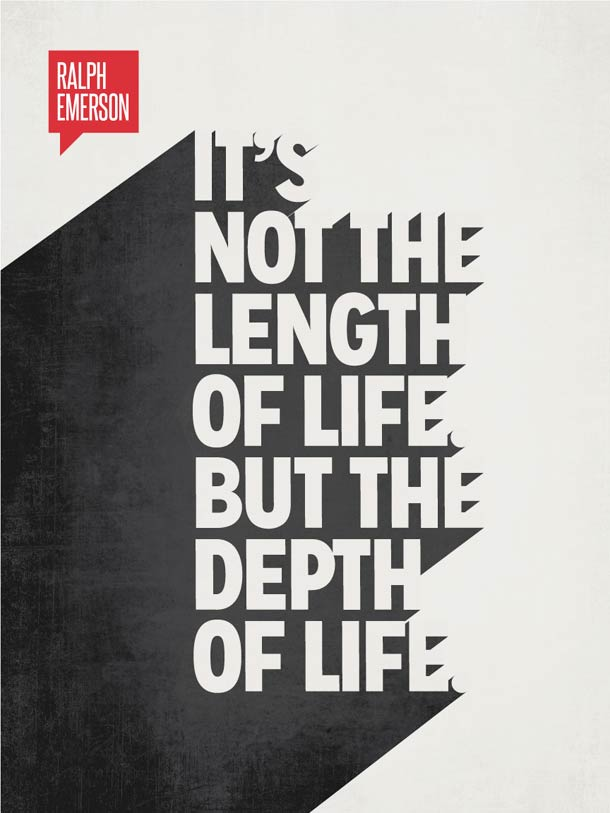 25 citations celebres sur des posters minimalistes