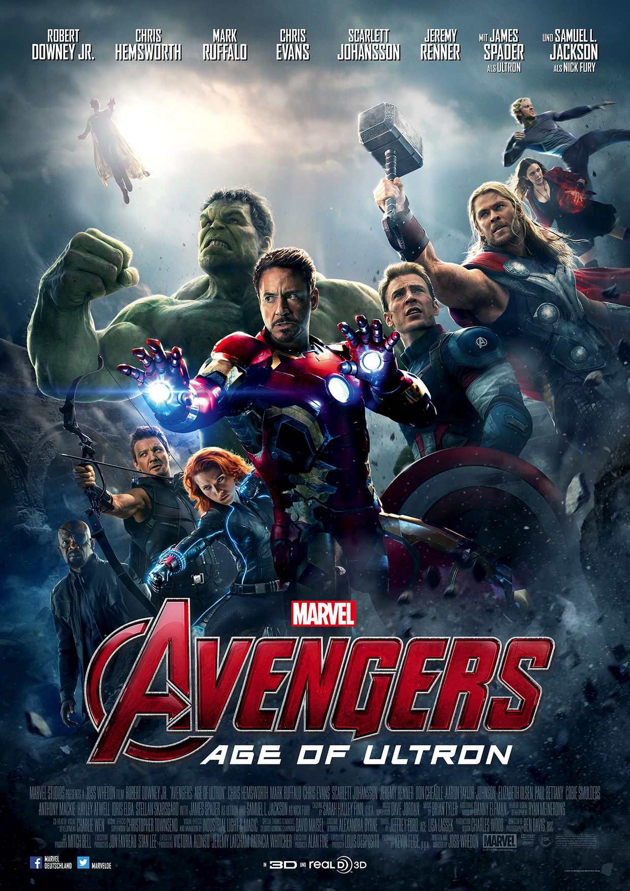Marvel's Avengers: Age of Ultron Posters