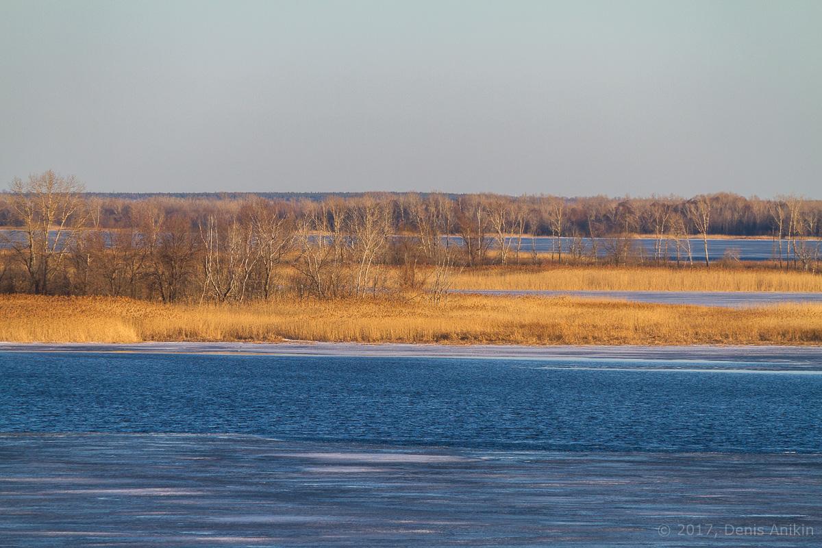 Волга весна лёд фото 4