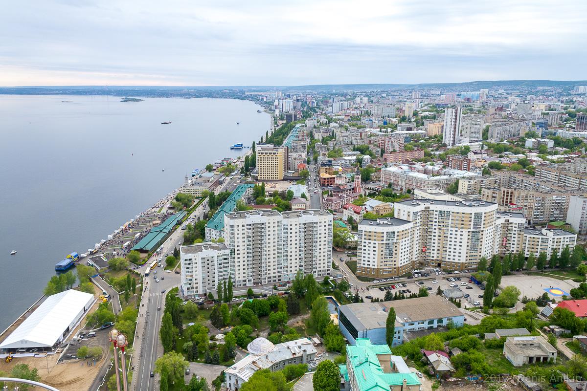 Вид на Саратов с Volga Sky фото 1