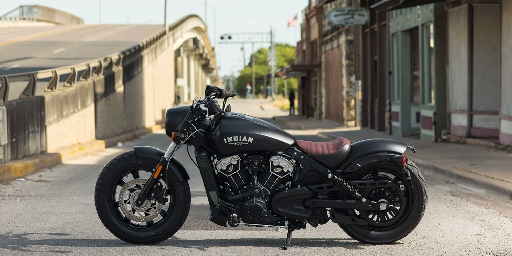 Новый мотоцикл Indian Scout Bobber 2018
