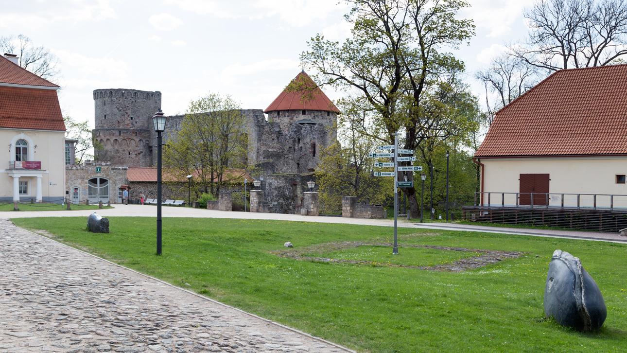 Цесис и крепость Венден