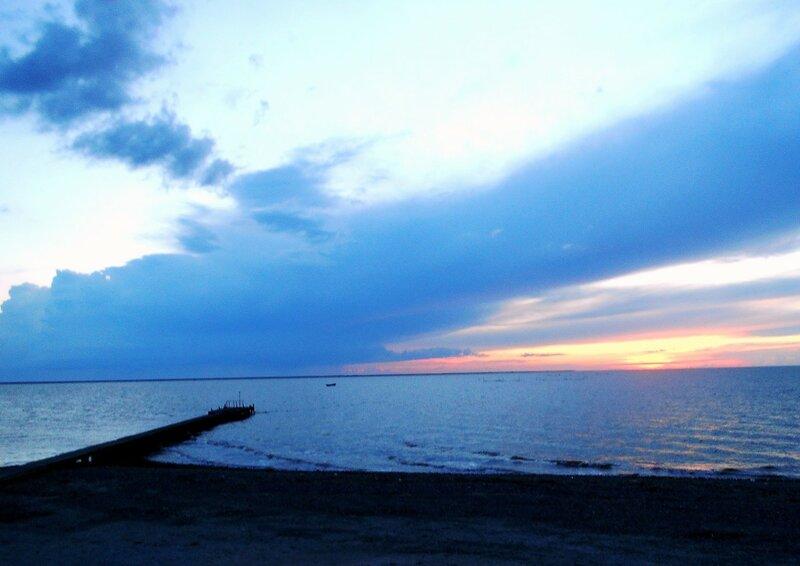 В небе... Вечер у моря ... DSCN5513.JPG