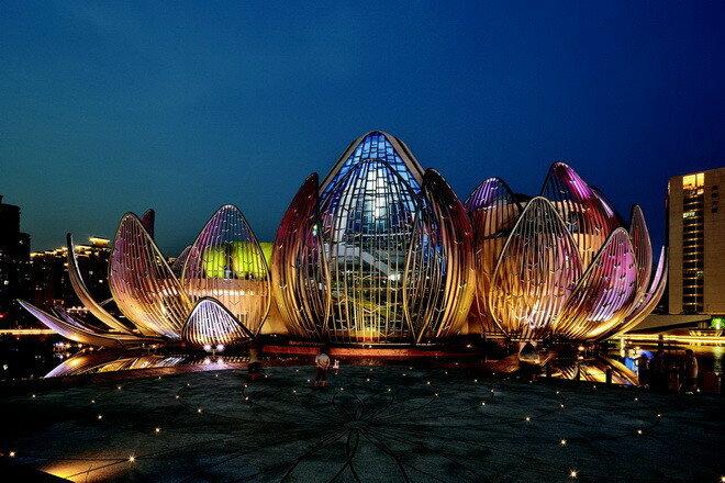 Конференц-центра Вуджин Лотус. Китай