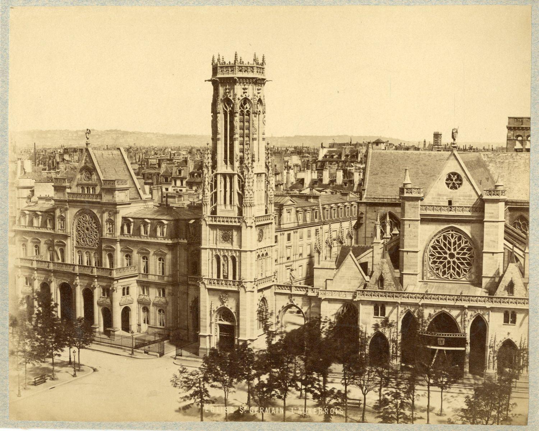 1880. Церковь Сен-Жерме́н