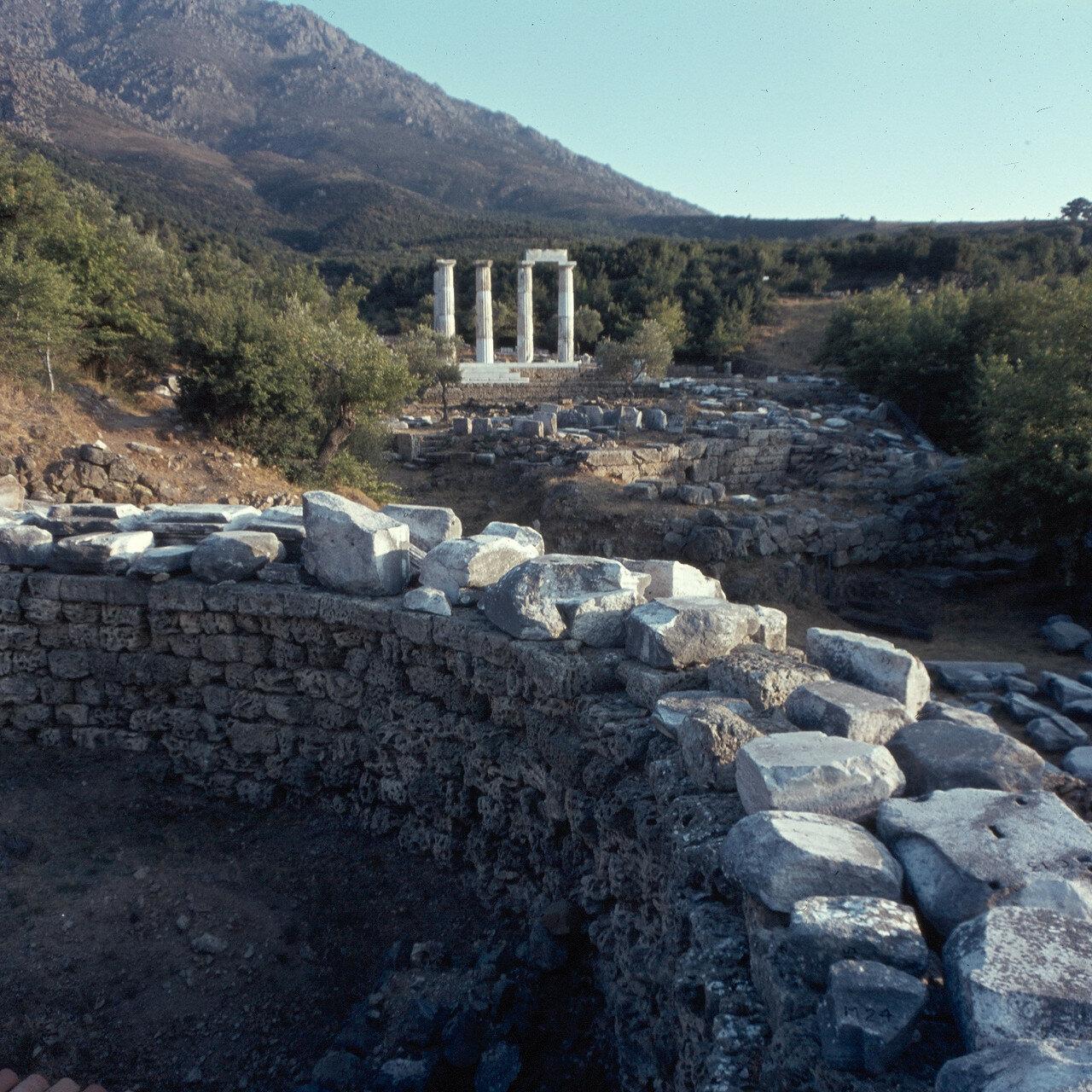 Самофракия. «Святилище великих богов». Арсинойон. 1964