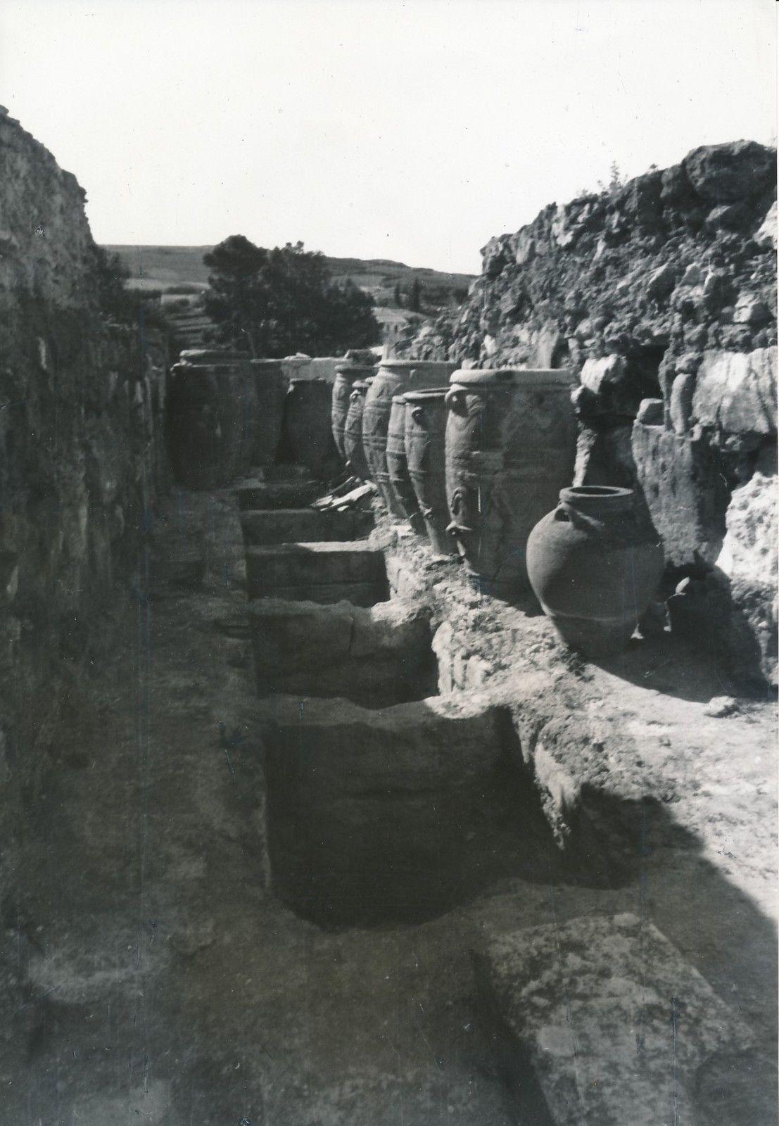 1935. Кносс. Дворец царя Миноса