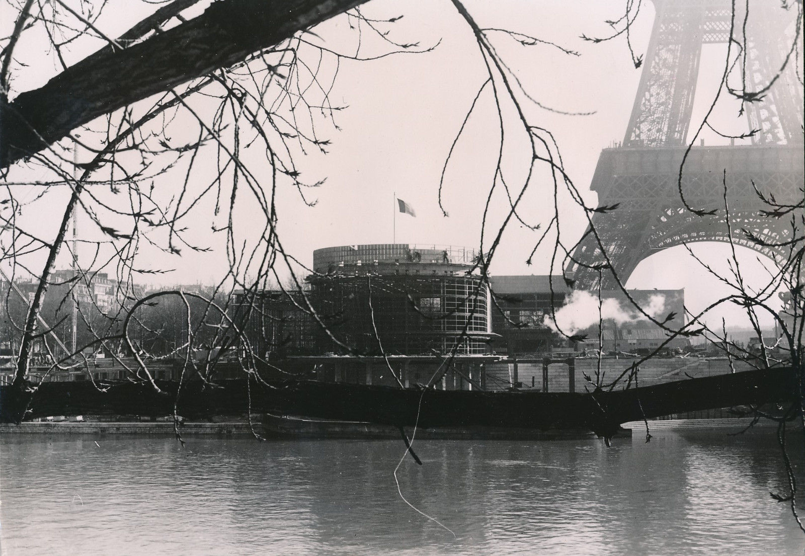 Строительство выставочного павильона Бельгии