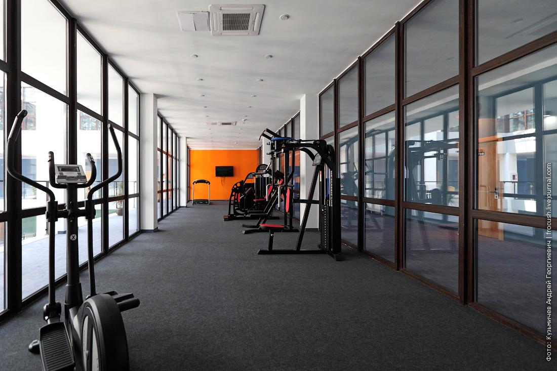 отель Beton Brut фитнес