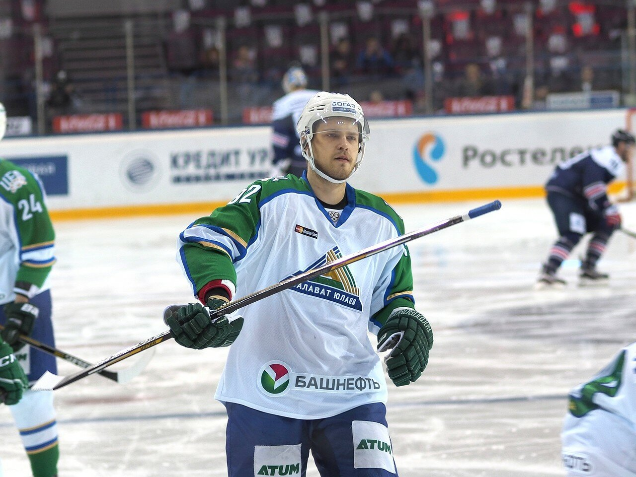 5Плей-офф 2016 Восток Финал Металлург - Салават Юлаев 23.03.2016