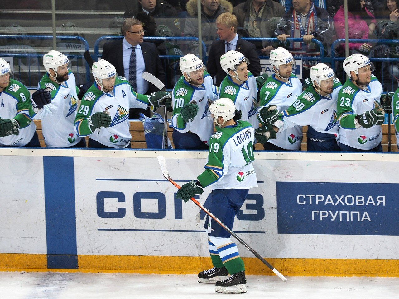 124Плей-офф 2016 Восток Финал Металлург - Салават Юлаев 23.03.2016