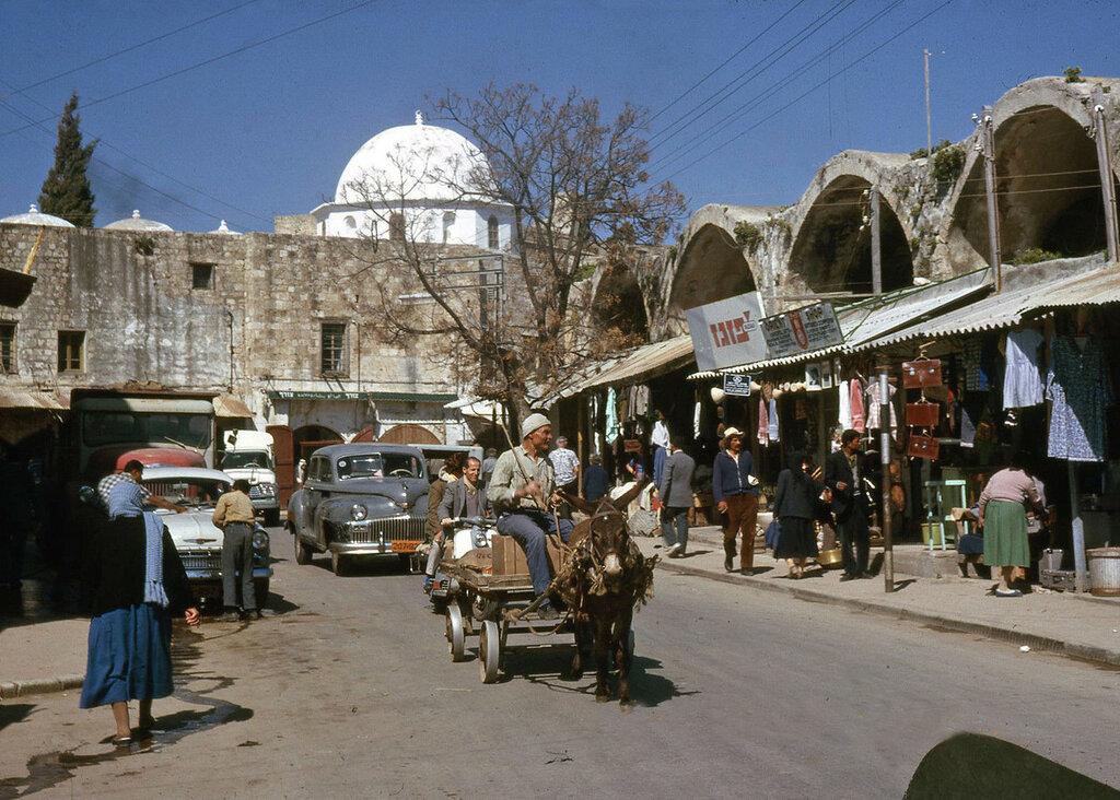 1963-64. Israel, Acre Street Scene.JPG