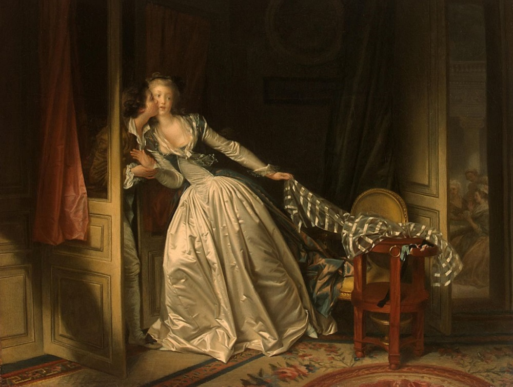 1. Жан Оноре Фрагонар. Поцелуй украдкой. 1780-е.jpeg