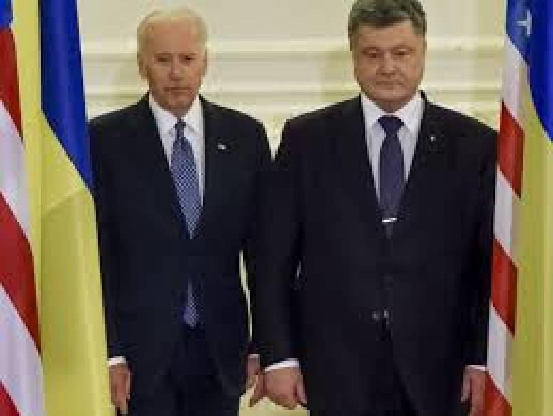Байден и Порошенко обсудили события в оккупированном РФ Крыму