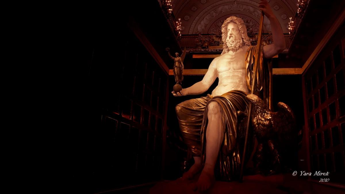 Чудо Света: статуя Зевса Олимпийского