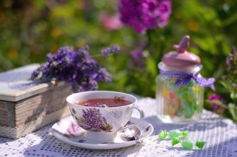 Лавандавое чаепитие...