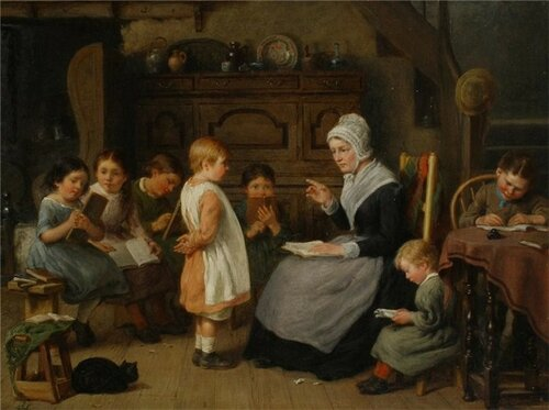 William Bromley The Lesson at School