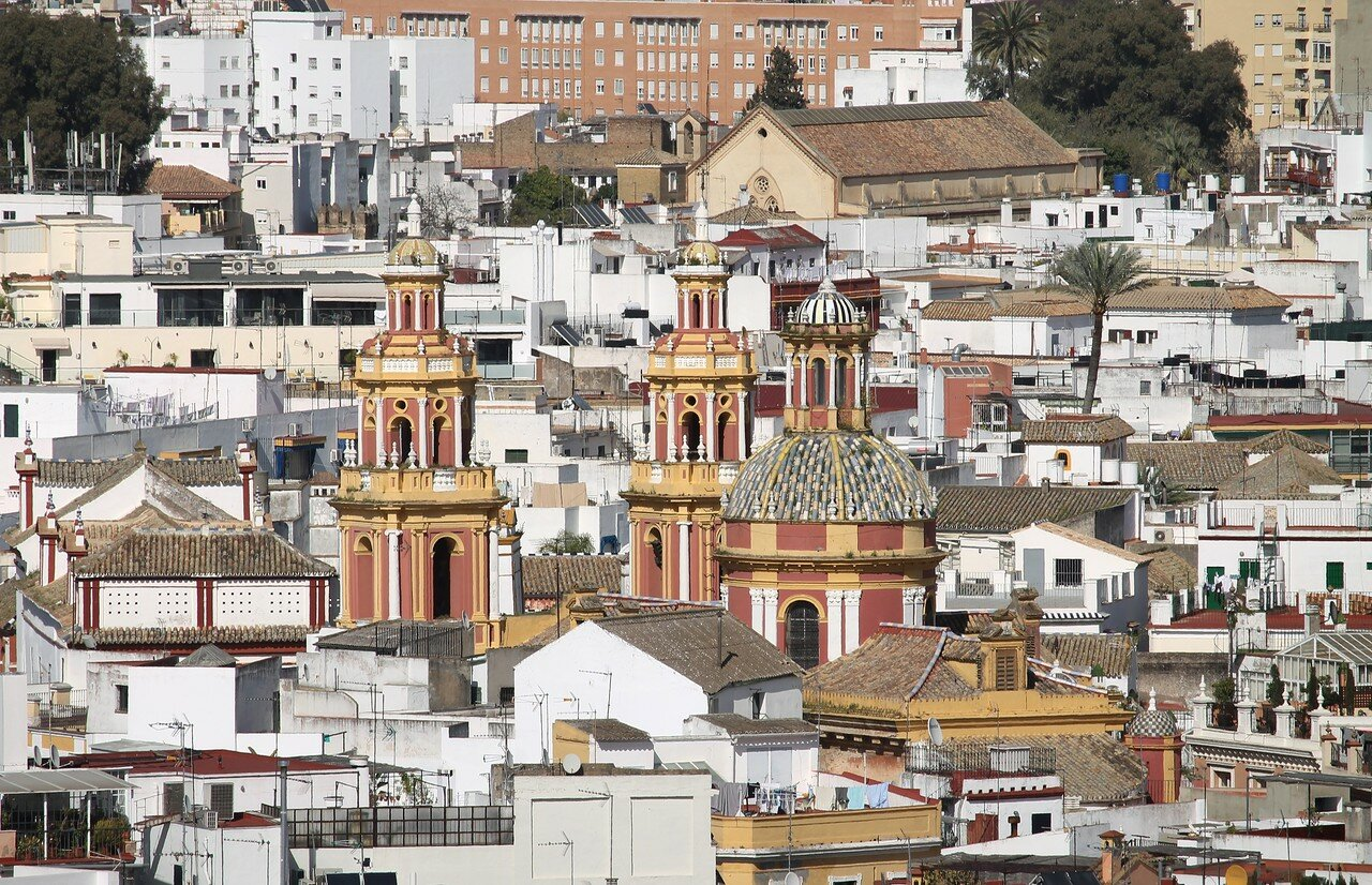 Seville, View from Giralda tower