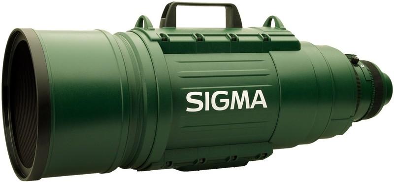 5. Зверь для спортивной съемки: Sigma 200-500 мм F/2.8 Он похож на базуку, но это один из самых быст