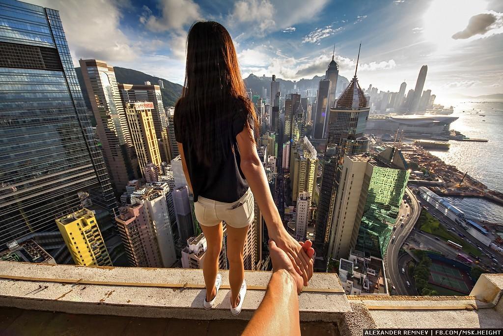 2. Ну что ж! Следуй за мной, я покажу тебе Гонконг с высоты!