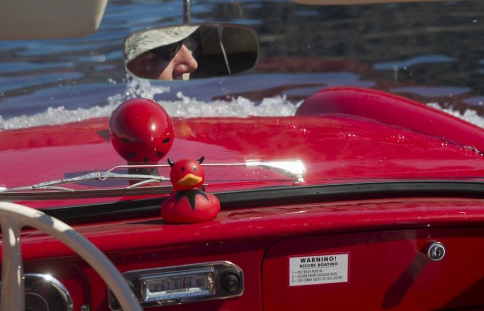 Конкурс автомобилей-амфибий в США