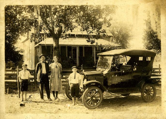 1918 Overland Model 90