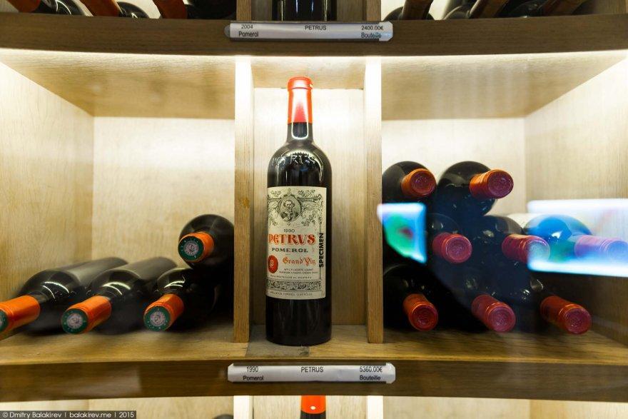 5. Intendant занимает вершину в иерархии розничной винной торговле. С него берут пример многие анало