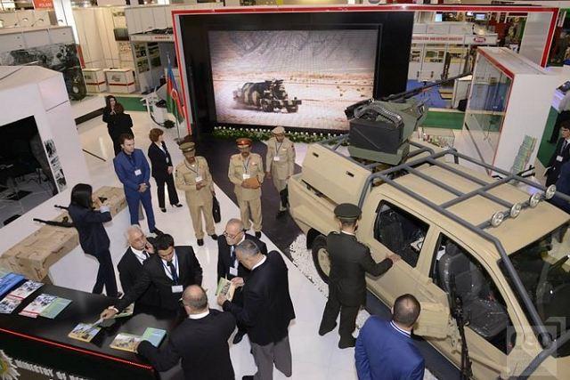 УВЗ презентует вАзербайджанской столице мобильный сервисный центр поремонту бронетанковой техники