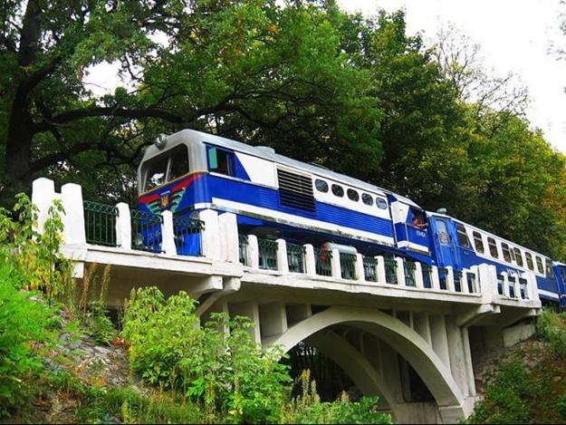 Детская железная дорога вЕкатеринбурге начнет работу 1мая